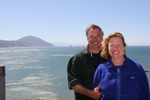 """Ocean Frontiers"" producers, Ralf and Karen Meyer, in Port Orford, Oregon."